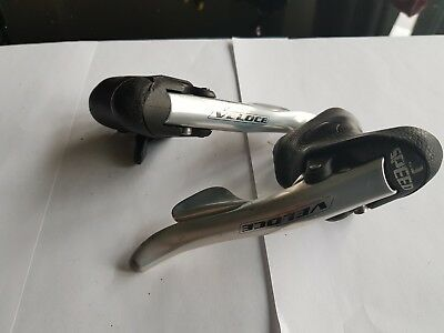 Campagnolo Veloce alu 9 speed shifters brake shifter levers Chorus Record comp
