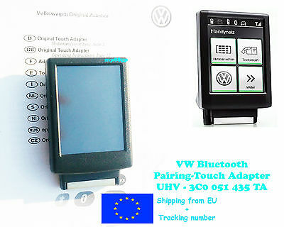 vw 3c0 051 435 ta touch adapter manual english francais italiano rh picclick co uk Bluetooth Adapter for PC iPod Bluetooth Adapter