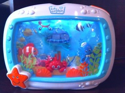 Baby Einstein SEA DREAMS CRIB BABY SOOTHER LIGHTS SOUNDS ANIMATION