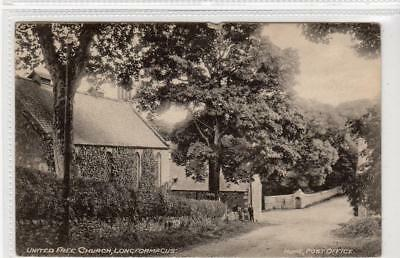 UNITED FREE CHURCH, LONGFORMACUS: Berwickshire postcard (C32100)