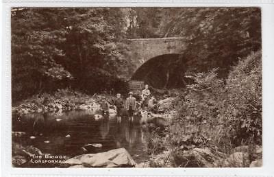 THE BRIDGE, LONGFORMACUS: Berwickshire postcard (C32143)