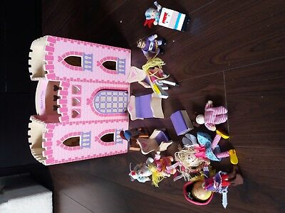 Melissa Doug Fold And Go Wooden Princess Castle Plus Extra