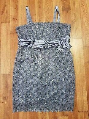 Women's Formal Plus Jacket Dresses Size 22W Navy Grey