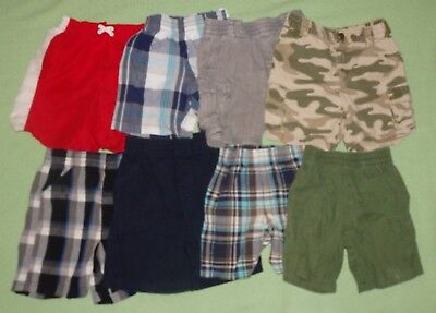 Boys Shorts Lot of 8 Size 24 Month