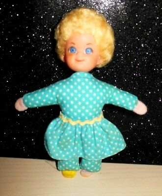 "Vintage Mattel Mrs Beasley Mini Doll -4.5 "" 1967 Buffy Family Affair"