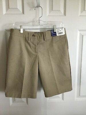 Dennis Uniform Girls Khaki Shorts Size G20 NWT