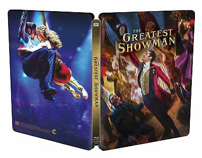 The Greatest Showman Limited Edition Steelbook - Region Free Import