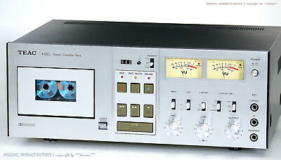 TEAC A-650 Vintage High-End Cassette Tape Deck 1A-Zustand! Revidiert+1J.Garantie