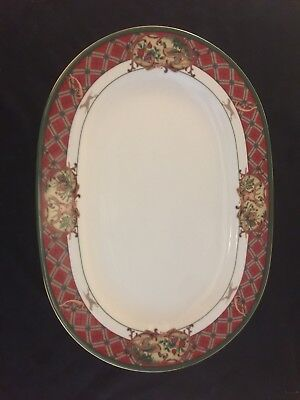"Noritake Royal Hunt 14"" Platter Excellent Condition"