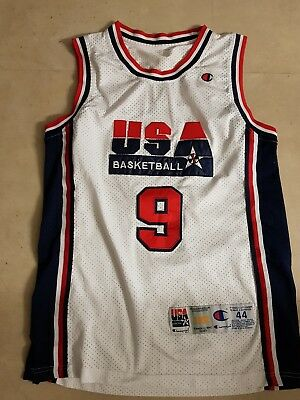 michael air jordan basketball dream team usa Trikot gr. 44 von champion