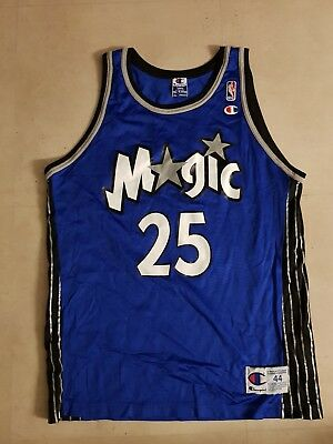 orlando magic nba champion trikot jersey anderson gr. 44 shaq teamate jordan