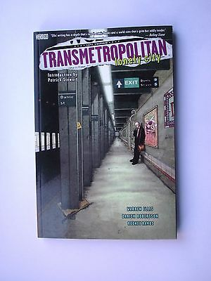 Transmetropolitan: Lonely City: Collectors p.back 2000 Mint Condition DC Comics
