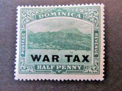 Dominica, Sc# Mr3 (1918) War Tax, Mnh