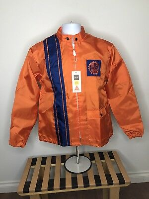 Vintage Dead Stock Great Lakes Valley Forge Racing Stripe Jacket
