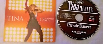 tina turner 15 greatest  hits private dancer the mail cd album duo used