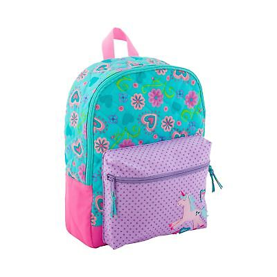 Stephen Joseph Little Girls' All Over Print Quilted Rucksack Purple One Size