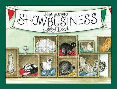 Hairy Maclary's Showbusiness by Lynley Dodd Board Books Book Free Shipping!