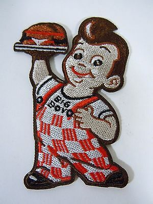 """Big Boy Embroidered  Iron-On Patch - 3.25"""""""