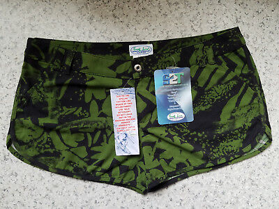Original CHEETERS Unisex Surf Line Hawaiian Nylon Shorts Size XL