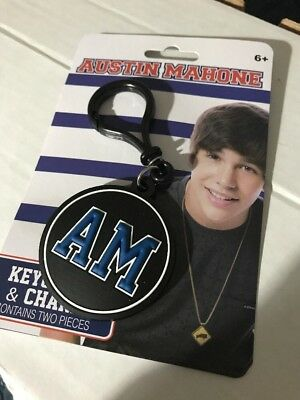 Austin Mahone Keychain Charm One Size RARE & NEW