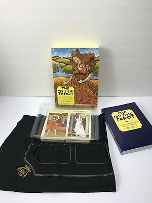1986 The Mythic Tarot - Complete Set with Book and Cloth