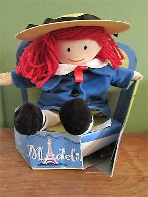 """New In Box 2003 La Petite MADELINE 12"""" Rag Doll Damage Hat & Box Learning Curve"""