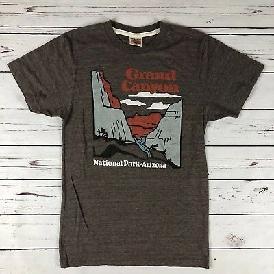 bc53168ba85a Vintage Single Stitch Grand Canyon T-Shirt Homage Size Small Made In USA