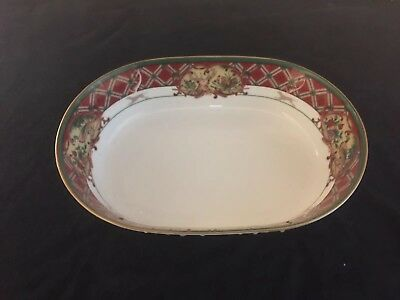 "Noritake Royal Hunt 9"" Oval Vegetable Serving Dish"