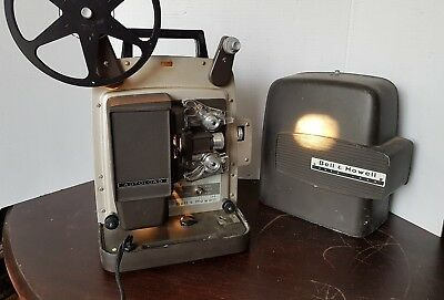 vintage Bell and Howell autoload Super 8 projector design 346