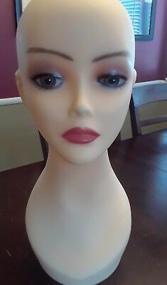 Female Mannequin Display Head