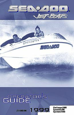 sea doo owners manual book 2004 speedster 200 20 00 picclick rh picclick com 2004 seadoo sportster owners manual 2006 seadoo sportster owners manual