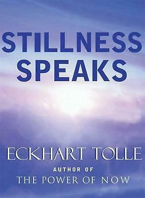Stillness Speaks by Eckhart Tolle (English) Hardcover Book Free Shipping!