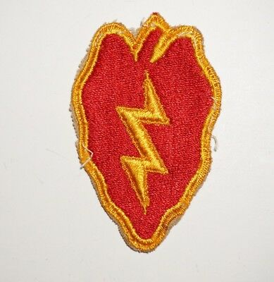 25th Infantry Division Patch WWII US Army P7254