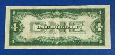 """1928A $1 Blue """"FUNNY BACK"""" SILVER Certificate Choice VF X376 Old Currency"""