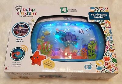 Baby Einstein Sea Dreams Soother▪Universal Attachment▪10+ Melodies▪Ocean Sounds