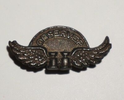 Army Air Force Ground Observer Corps Lapel Button Pin WWII AAF Home Front M1757