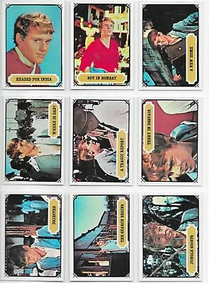 1967 MAYA - Mysteries of India 55 Card Set Excellent Condition Topps Scanlens