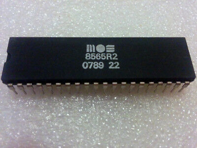 Commodore 64 VIC-II MOS 8565 R2 PAL video chip 5v (*TESTED*)