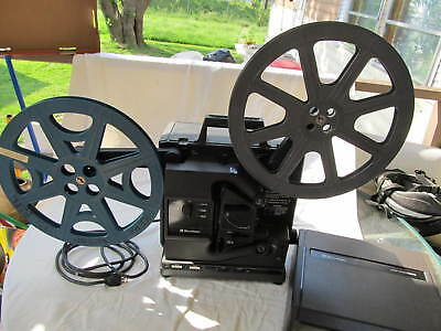 BELL & HOWELL 16mm Filmosound Vintage FILM PROJECTOR 2580 Working!