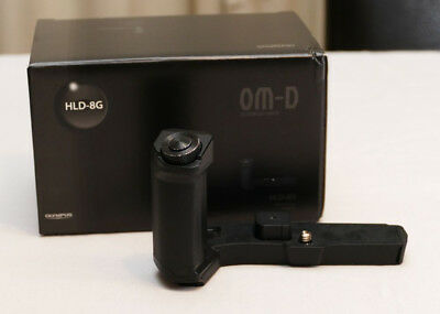 Olympus HLD-8G Hand Grip for OM-D E-M5 MkII camera - As New