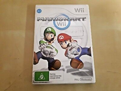 MARIO KART Wii pal with instructions. -- free postage.