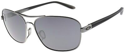 Oakley Women's Sanctuary Sunglasses OO4116-02 Gunmetal | Black Iridium Lens