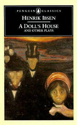 A Doll's House and Other Plays by Henrik Johan Ibsen (English) Paperback Book Fr