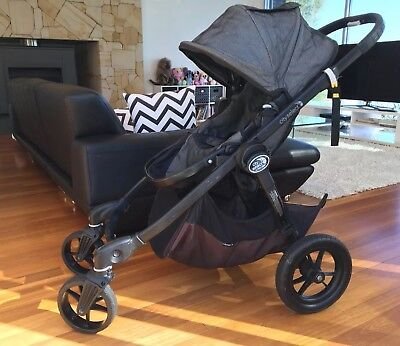 Baby Jogger City Select Pram with Bassinet, Pram liner, Rain cover