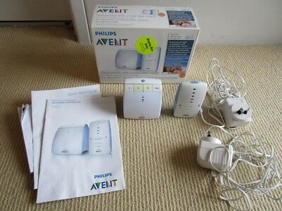Phillips Avent baby monitor, good condition