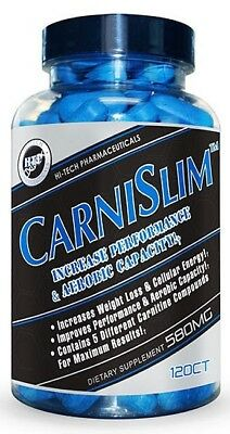 Hi-Tech Pharmaceuticals Carnislim 120 Capsules FREE POST