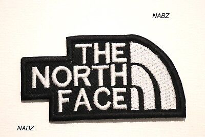 THE NORTH FACE Brand Embroidery iron Sew on Patch Badge