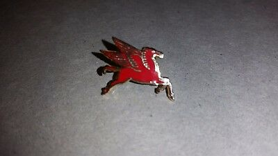 THREE MOBILE GAS FLYING RED HORSE STICK PINS-LAPEL or HAT-MOBILE OIL CO.