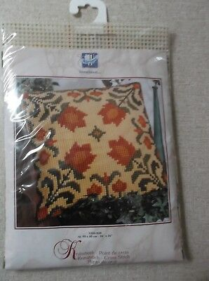 New Unworked Vervaco Tapestry Cushion Kit.