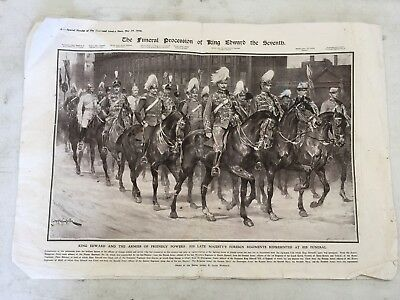 Funeral Procession of Edward VII 1910, a Grand Collection of Photos & Paintings